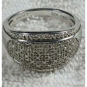 Victoria Townsend Diamond .35ct Pave Dome Ring
